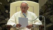 Папа Франциск с послание към олимпийците