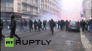 Italy: Anti-Expo Milano activists clash with police during May Day rally