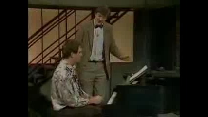 Hugh Laurie and Stephen Fry - Piano Masterclass
