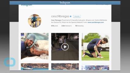 Soccer Star Cesc Fàbregas Has Second Child