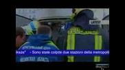 Чеченски терористи взривиха московското метро ... Ужасяващи кадри
