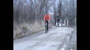 дрифт с колело - част10