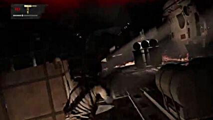 Uncharted 3 Plane Scene.