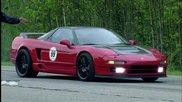 Най-лошият шофьор с Honda N S X или доста добро Porsche 911 Turbo S