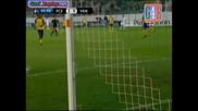 25/08/2009 Zurich - Ventspils 1 - 0 Goal na Johan Vonlanthen