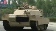 M1а2 танк в действие