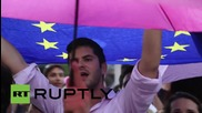 "Greece: Thousands urge for ""yes"" vote on bailout referendum"