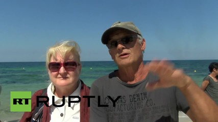 Tunisia: Mourners pay respects at scene of deadly Sousse resort attack