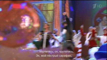 Анна Семенович и Андрей Кайков - Leva's polka