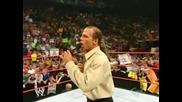 Shawn Michaels - промо в Монреал, Raw - 2005 г.