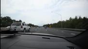 Игра на гоненица между Bmw M5 vs M5 Autobahn !