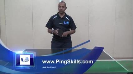 Уроци по тенис на маса - Атакуване на къси топки