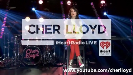 Cher Lloyd Live - Dancing On My Own - iheartradio Theater - 27th July 2012 Hq/hd
