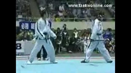Itf taekwondo amazing knockout