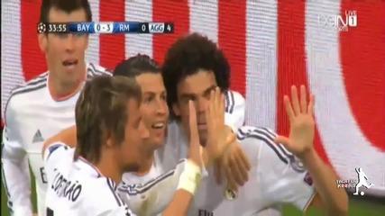 Реал Мадрид Унищожи Баварската Машина - 29.04.14 ( Bayern Munich 0:4 Real Madrid )