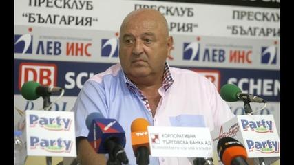 Венци Стефанов с поредна порция бисери след загуба на Славия