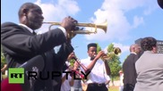 USA: Officials join residents to mark 10th anniversary of Hurricane Katrina in New Orleans