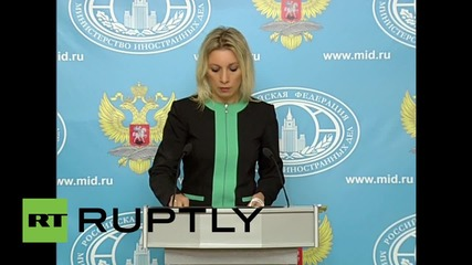 Russia: Bulgaria has 'moral responsibility' for blocking Syrian aid - Zakharova