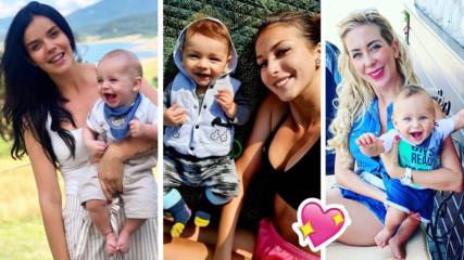 С деца на море: Как минава първото лято на звездните BG бебета?