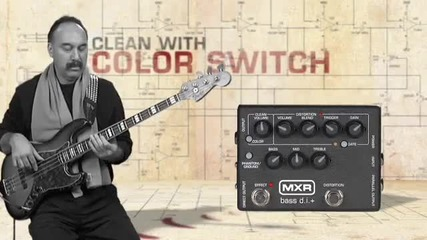 Mxr M80 Bass Distortion Demo Video