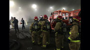 USA: Firefighters respond to fire aboard US Navy ship in San Diego *STILLS*