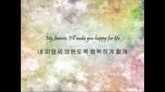 Б Г превод! Z E : A Five - Fiancee ( hangul & english )