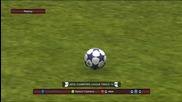 Gol s Ozil na Pes 2011