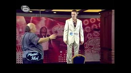 Music Idol 3 - Петър Ди Каприо - Този Кандидат Така Се Вживя В Ролята Си, Че Наистина Заслужава Оска