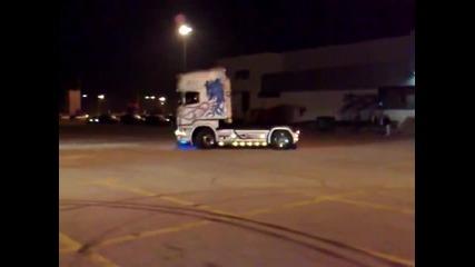 Scania v8 drift