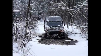 Mercedes G Offroad