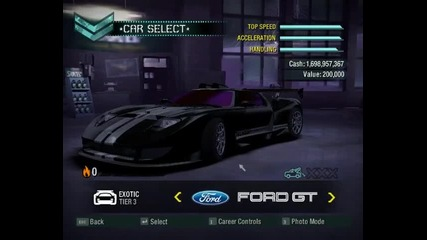 Nfs Carbon Cars