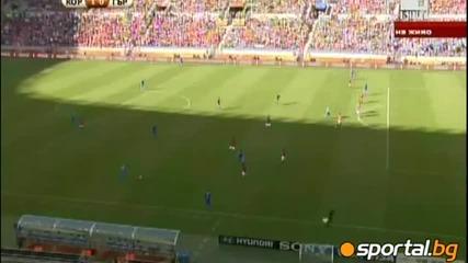 Корея - Гърция 2:0 (група Б)