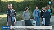 Жители на Лозен на протест заради незаконната сеч