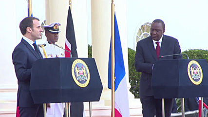 Kenya: Macron vows to boost cooperation between France and Kenya