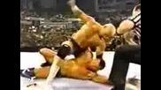 Randy Orton Vs Hardcore Holly (Randy Orton debute mach)