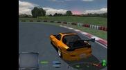 Първи опити за drift с Mazda Rx-7
