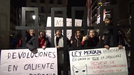 Spain: Refugee solidarity rally in Madrid slams NATO interventions