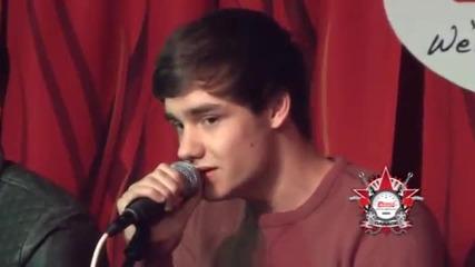 One Direction Изпълняват More Than This - Интервю за 107.5 The River - Нашвил част 1/3
