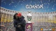 Купата на Евро 2012 е вече в Гданск