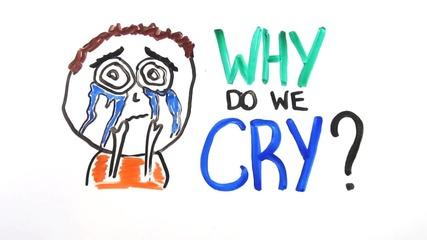 Защо плачем?