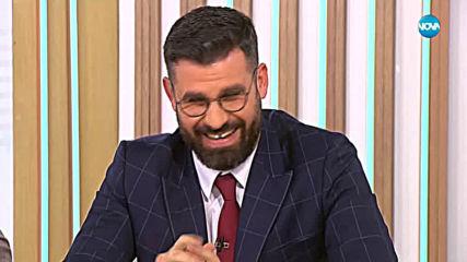 Любимият актьор на зрителите на NOVA: Юлиaн Вергов