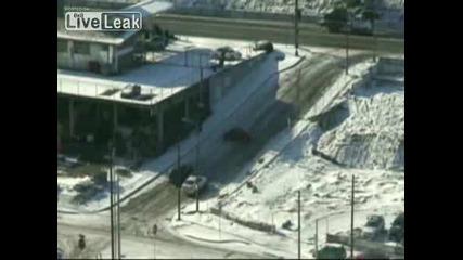 Трудно Ли Се Кара Автомобил През Зимата ??