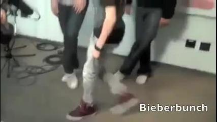 Justin bieber//uchitel po tanci ;dd