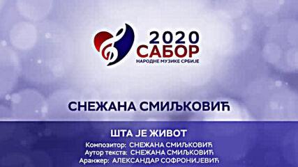 Snezana Smiljkoviz - Sta je zivot Sabor narodne muzike Srbije 2020.mp4
