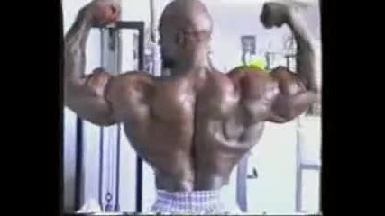 Ronnie Coleman Training