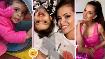 Преслава трогна с видео на малката Паола от детска площадка в Южния парк