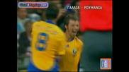 Julien Escude avtogoal France - Romania 1 - 1 (1 - 1 05/09/2009)