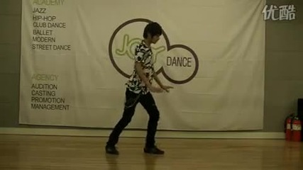 Pre - debut Co.eds Choi Sungmin dancing (sep 29, 2010)