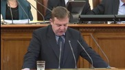 Каракачанов: Държавата е мудна по отношение на българите в Украйна