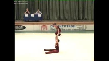 Акробатика-Мъжка Двойка-Баланс -Локомотив Русе